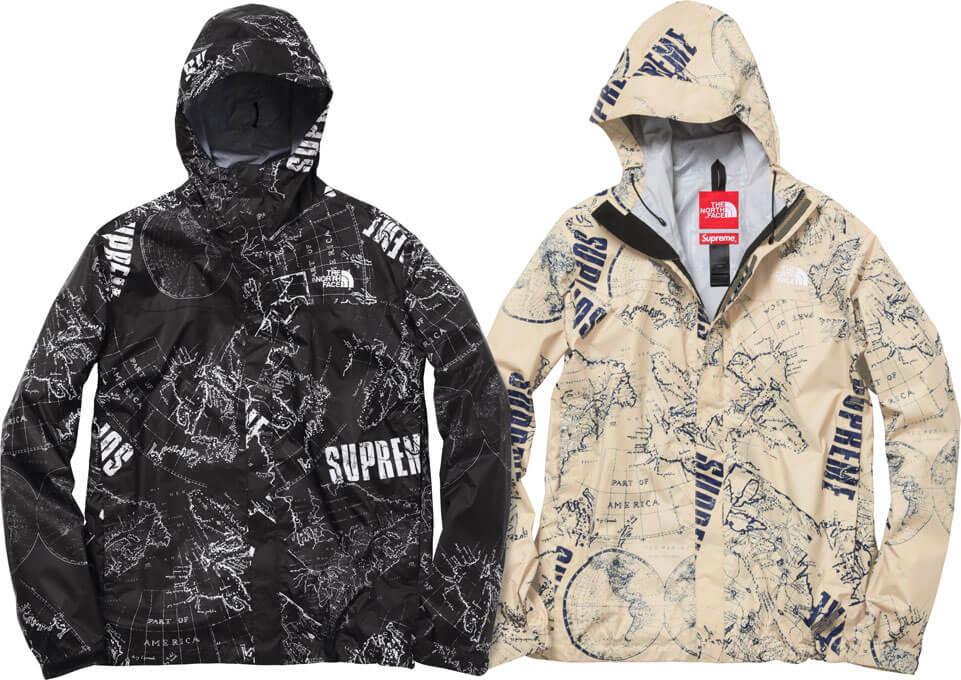 2012 supreme tnf venture jacket