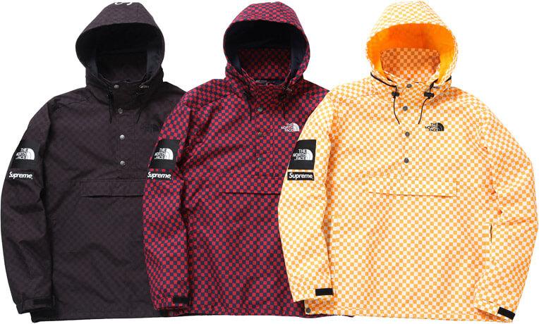 2011  supreme tnf windbreaker pullover