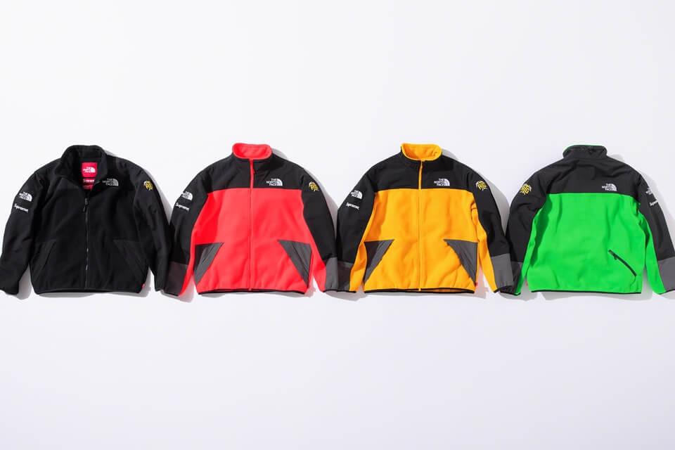 2020 supreme tnf rtg fleece jacket