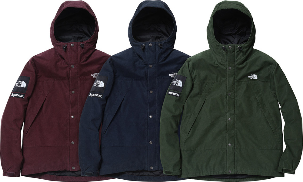 2012 supreme tnf mountain jacket