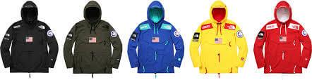 2017 supreme tnf gore-tex expedition pullover