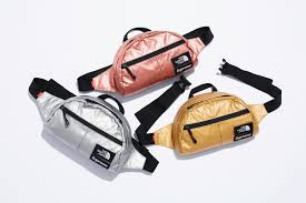 2018 supreme tnf metallic roo Ⅱ lumbar pack