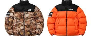 2016 supreme tnf nuptse jacket with packable hood