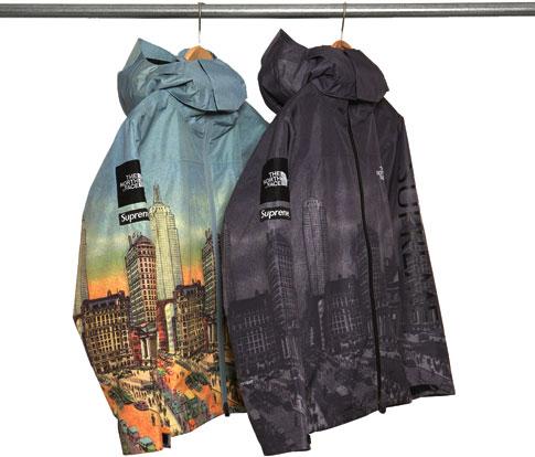 2008 supreme tnf summit jacket