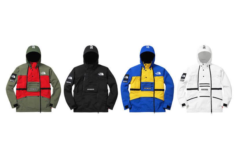 2016 supreme tnf steep tech hooded jacket