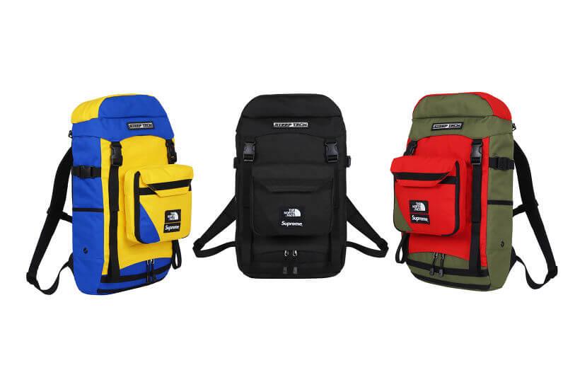 2016 supreme tnf steep tech bagpack