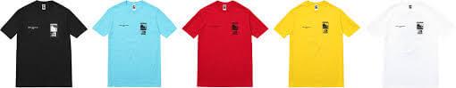 2016 supreme tnf steep tech t-shirt