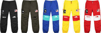 2017 supreme tnf gore-tex expedition pant