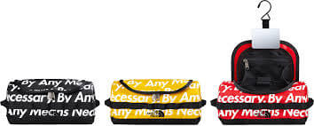 2015 supreme tnf travel canister