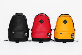 2017 supreme tnf leather day pack