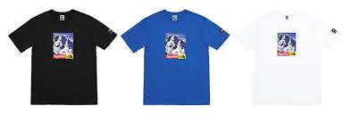 2017 supreme tnf short sleeve t-shirt
