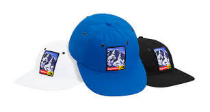 2017 supreme tnf 6-panel hat