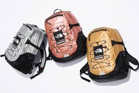 2018 supreme tnf metalic borealis backpack