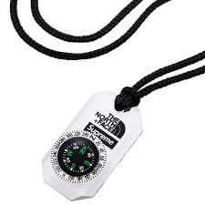 2018 supreme tnf compass necklace