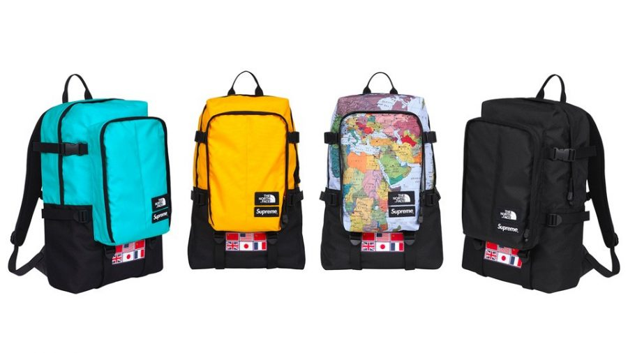 2014 supreme tnf expedition day pack