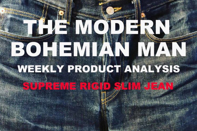 SUPREME RIGID SLIM JEAN