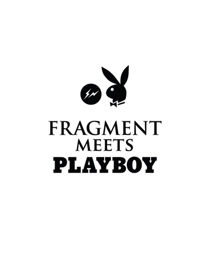 FRAGMENT DESIGN PLAYBOY FRAGMENT MEETS PLAYBOY