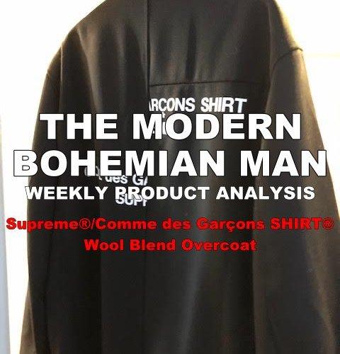 Supreme®/Comme des Garçons SHIRT® Wool Blend Overcoat