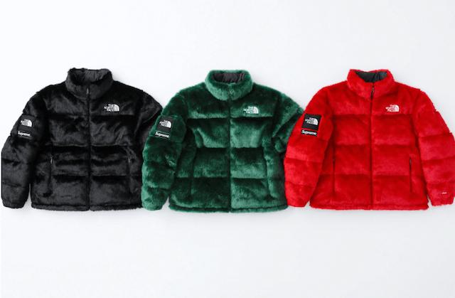 Supreme®/The North Face® Faux Fur Nuptse Jacket