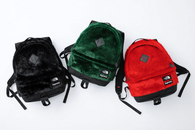 Supreme®/The North Face® Faux Fur Backpack