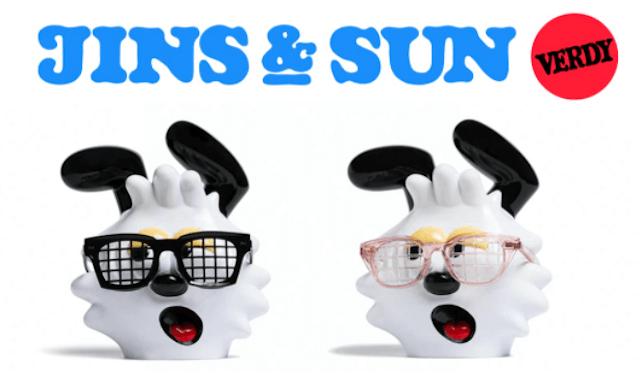 JINS&SUN VERDY 最新コラボコレクション
