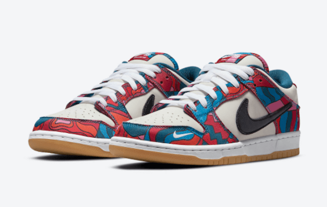 PARRA NIKE SB DUNK LOW ABSTRACT
