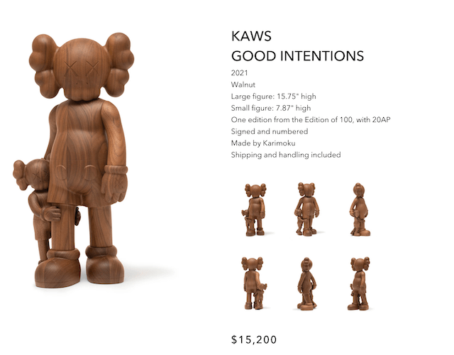 KAWS GOOD INTENTIONS